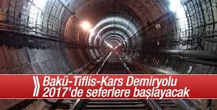 Bakü-Tiflis-Kars Demiryolu Projesi hayata geçiyor