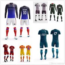 How To Design Football Jersey 2019 Cheap Custom Football Jersey Design Your Own Soccer Uniforms Customized Professional Wholesale Mens Soccer Jersey From Jiejiejersey 23 36