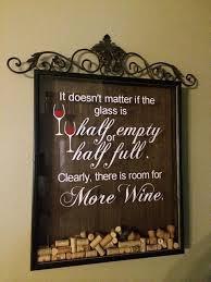 absolutely ideas wine cork holder wall decor glass art com letter d cor metal all 4