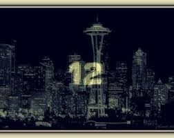 Small Picture Seahawks art Etsy