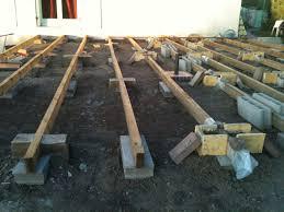 Nivrem Com Faire Une Terrasse En Bois Sur Du Gravier Diverses