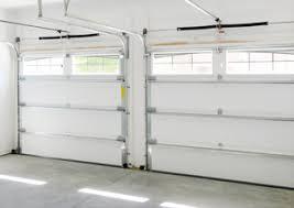 inside view of a garage door