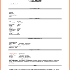 By Photo Congress Download Resume Format For Call Center Job