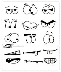 Create Own Face Cartoon Eye Mouth