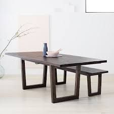 Logan Industrial Expandable Dining Table