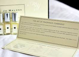 Fragrance Combining That A Ha Moment When Jo Malone