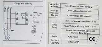 2016 new arrival over under voltage phase failure protection relay Phase Failure Relay Wiring Diagram ccx1 overvoltage under voltage phase failure phase sequence protection relay phase failure relay circuit diagram