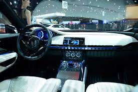 2018 jaguar xe interior. exellent interior jaguar xe original concept interior far more dramatic but twodial  instrument layout has been retained probably without the striking lighting on 2018 jaguar xe e