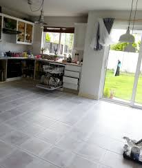 painting tile floors kitchen elegant painted tile floor no really make do and diy of painting