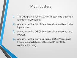 Designated Subjects Vocational Education Teaching Credential Orange County Department Of Education Ppt Download