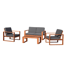 find mimosa 4 piece deva deep seat sofa setting at bunnings warehouse visit your local for the widest range of outdoor living s