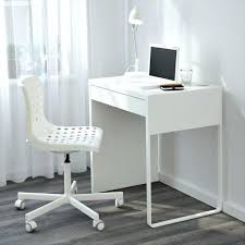 charming white office. Charming White Office Desk Table Narrow Computer For Small Space Room Home T
