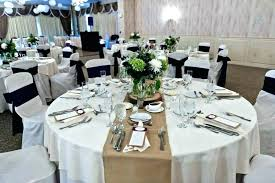 centerpieces for round tables table awesome dining decor at wedding reception