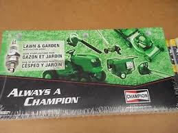 Champion Spark Plug Chart For Lawn Mowers Details About Champion Spark Plug Lawn And Garden Application Guide