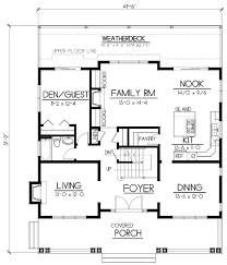 House Plan at FamilyHomePlans comBungalow Craftsman House Plan Level One