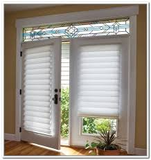 French Door Window Covering Ideas I want this!