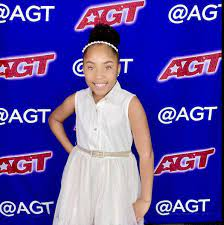 Local girl Victory Brinker performing ...
