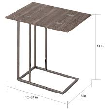 expandable furniture. plain expandable weathered grey finish expandableside end table  free shipping today  overstockcom 16735918 for expandable furniture