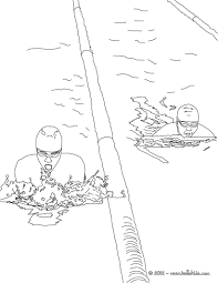 Freestyle Swimming Sport Coloring Page Interactive