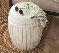 pottery barn garden stool gallery of com metal garden stool accent table only desire ceramic along