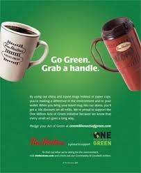 tim hortons is turning green marketing magazine tim hortons is turning green