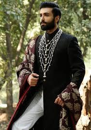 Groom Suit Designs India Latest Wedding Sherwani Designs By Amir Adnan Indian
