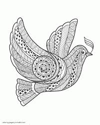 Adult Bird Coloring Pages Chartstockimagesgq