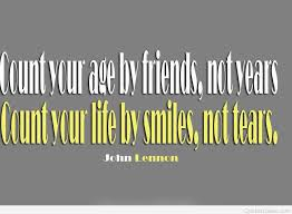 Quotes About Age Inspiration Age And Friends Quote
