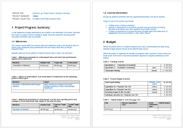 microsoft word budget template project progress report template microsoft word templates