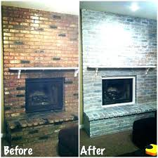 fireplace soot cleaner brick best ideas white washed clean way to removal