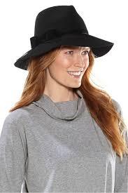 N/A Women\u0027s Jacqueline Wool Fedora Hat UPF 50+: Sun Protective Clothing