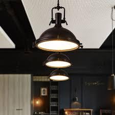 pendant industrial style lighting fixtures vintage industriallighting fixtures black metal dome congenial