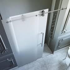 vigo 72 inch frameless frosted glass sliding shower door free with doors charming 5