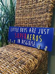 Superhero Coat Rack Amazon Boys Room Décor Boys Nursery Little Boys Are Just 44