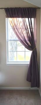 single panel curtain. Single Window Curtains Inspiring Design Ideas Curtain Inspiration Panel .