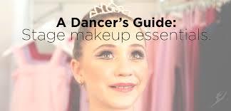 a dancer s guide se makeup essentials