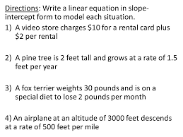 writing linear equations real world problems worksheet jennarocca