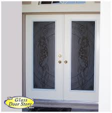 stunning home decor with sandblasted glass doors exciting front porch decoration using double white wood