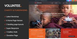 Charity Foundation Website Templates Free Psd Non Profit