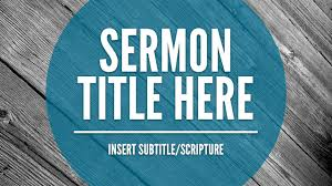Free Church Powerpoint Backgrounds Free Sermon Slide Template The Creative Pastor