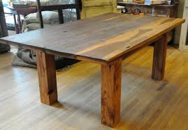 Industrial Kitchen Table Furniture Industrial Dining Table Industrial Rustic Solid Wood Dining Table