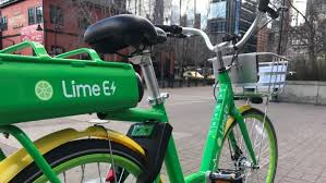 Image result for lime bikes pictures