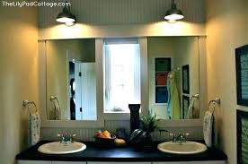 Bathroom Unique Kids Bathroom Lighting With Lights Home Depot