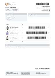 Magento 2 Pdf Customizer Extension Custom Pdf Invoices