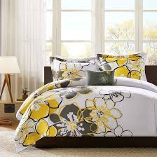 queen size 4 piece comforter set with