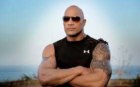 картинка Dwayne Johnson дуэйн джонсон The Rock скала рестлер
