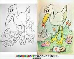 Coloring Book Corruptions Innocent Children S