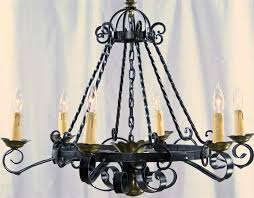 awesome spanish wrought iron chandelier spanish antique wrought iron chandeliers black colors home interior design ideas