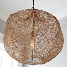 Boho Light Shade Boho Woven Wire Pendant Shades Of Light