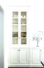 tall cabinets with glass doors tall cabinets with glass doors brilliant kitchen white wall cabinet winsome
